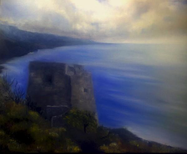 Picturi cu peisaje Peisaj calabrez