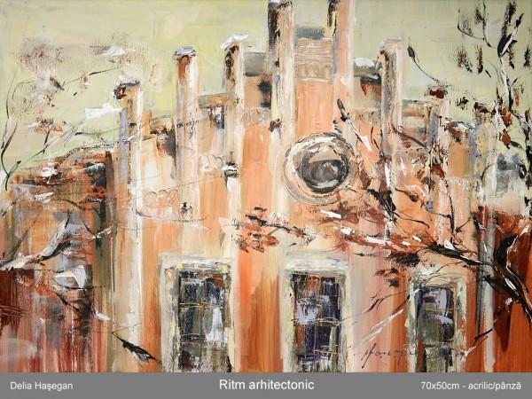 Picturi cu peisaje Ritm arhitectonic