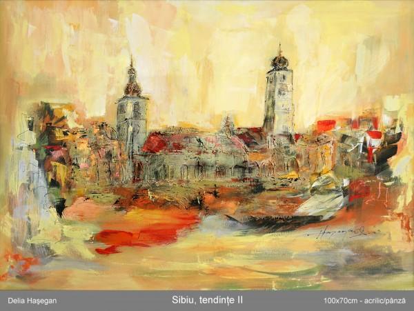 Picturi cu peisaje Sibiu,tendinte 2