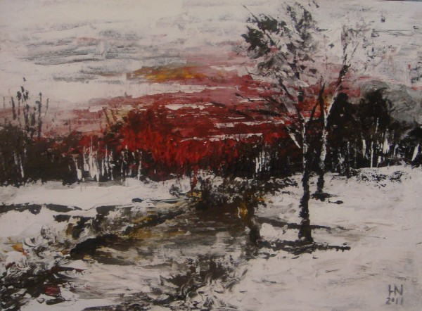 Picturi cu peisaje Inainte de furtuna