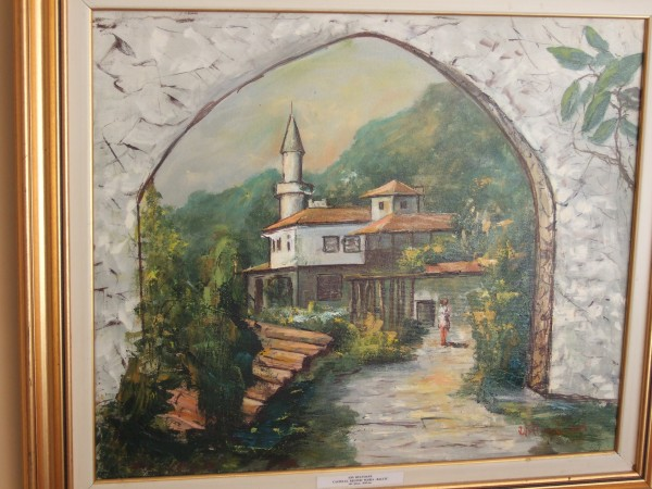 Picturi cu peisaje Castelul din balcic