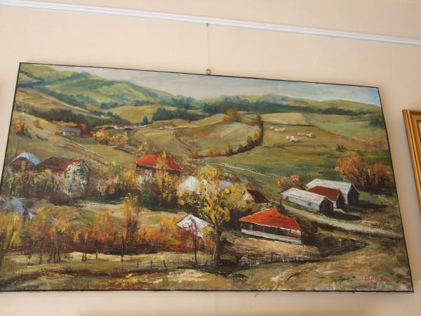 Picturi cu peisaje La moeciu