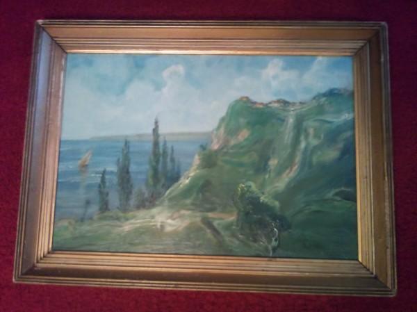 Picturi cu peisaje Peisaj marin
