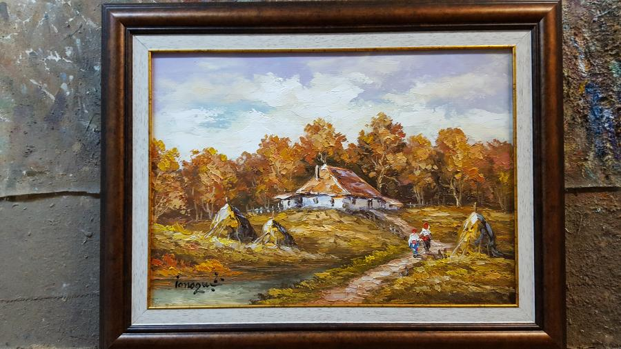 Picturi cu peisaje  peisaj vv
