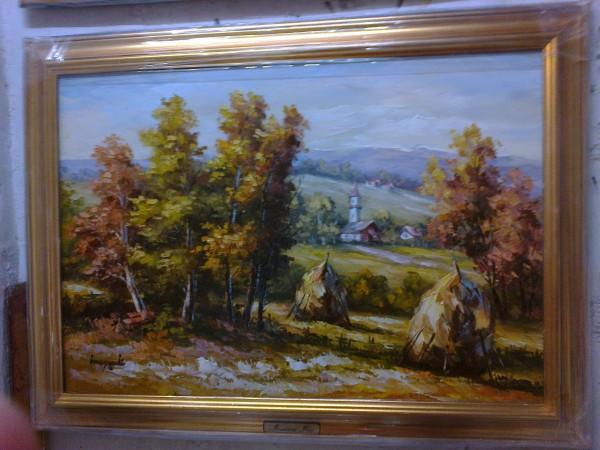 Picturi cu peisaje Rurala