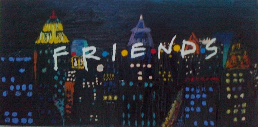 Picturi cu peisaje Friends