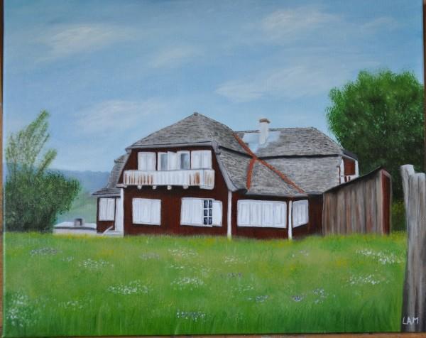 Picturi cu peisaje Casuta 1
