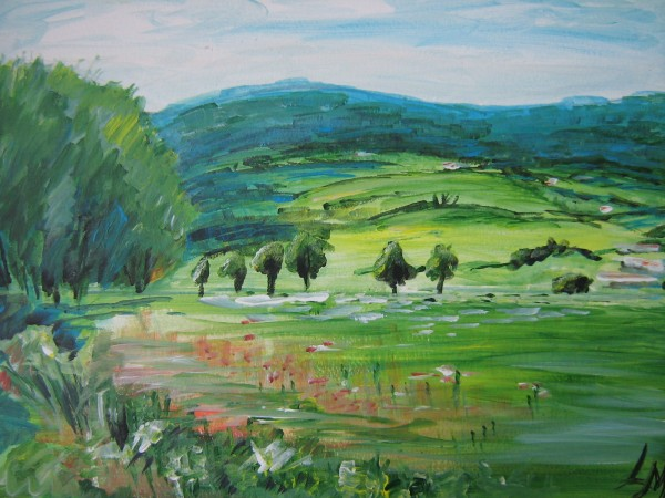 Picturi cu peisaje Arnbruck germania