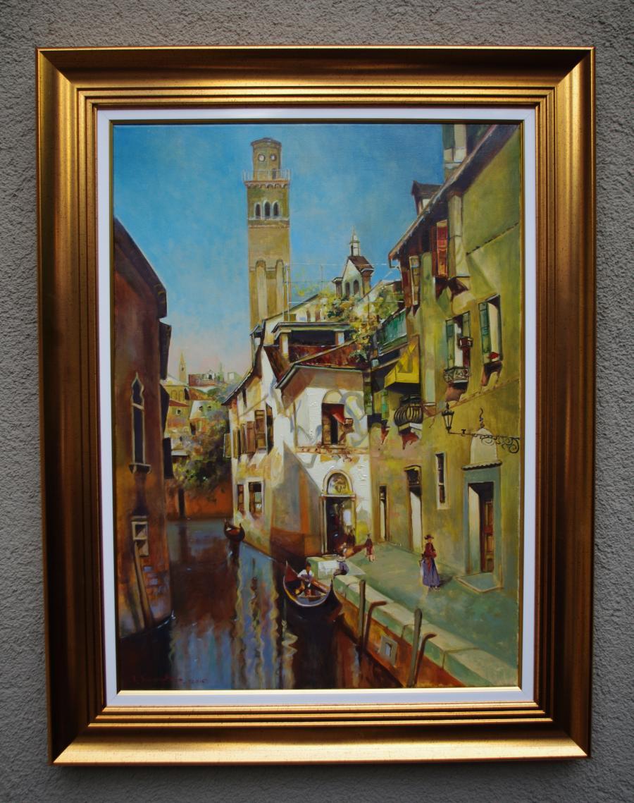Picturi cu peisaje venetia 001