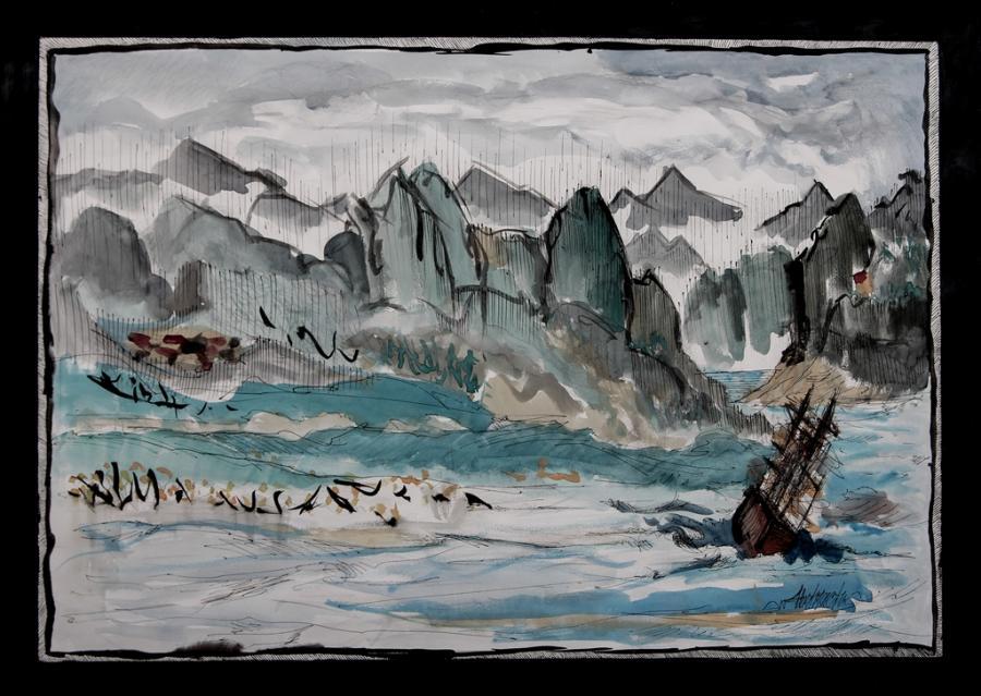 Picturi cu peisaje Marina1