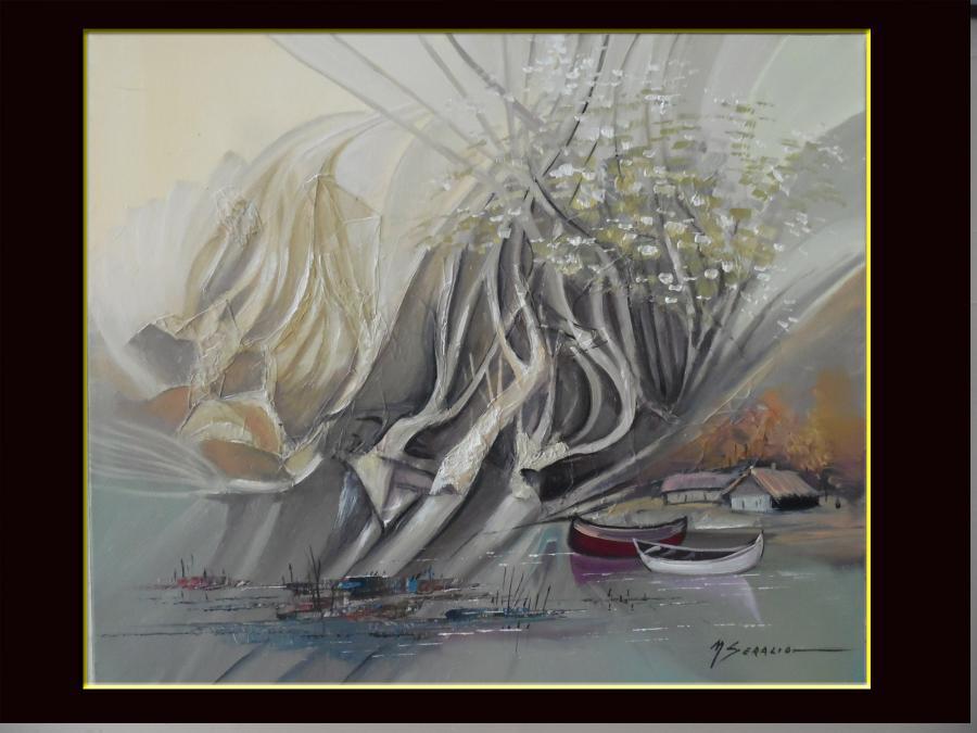 Picturi cu peisaje delta 04