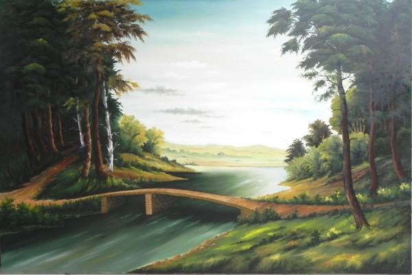 Picturi cu peisaje Podul 4