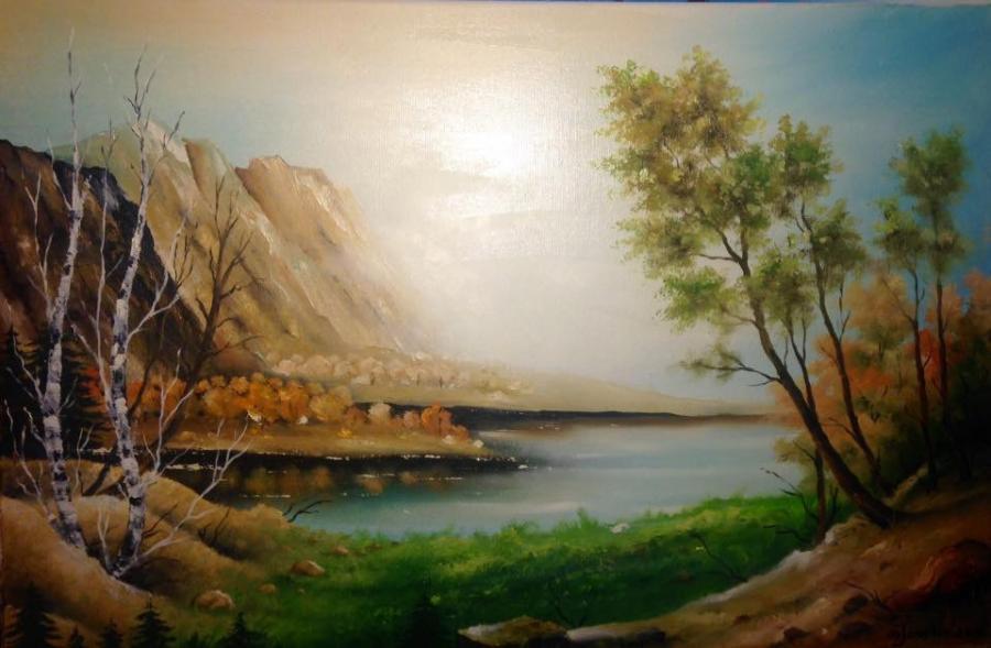 Picturi cu peisaje Un alt peisaj....