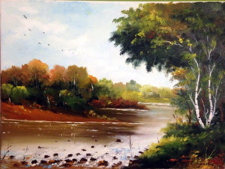Picturi cu peisaje Un peisaj 2