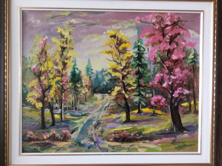 Picturi cu peisaje peisaj 02