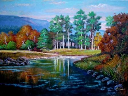 Picturi cu peisaje peisaj09