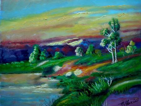 Picturi cu peisaje Peisaj25