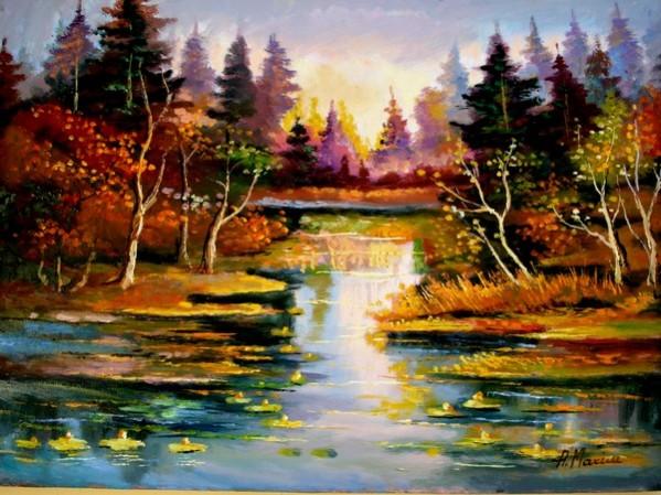 Picturi cu peisaje Peisaj4
