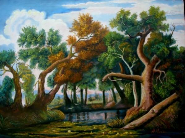 Picturi cu peisaje Tablou peisaj 10