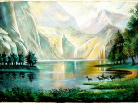 Picturi cu peisaje Tablou peisaj canion
