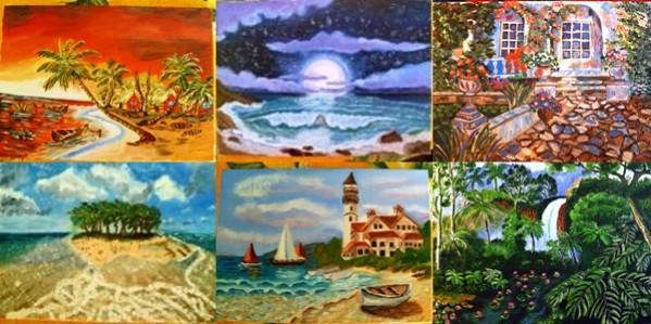 Picturi cu peisaje Vari peisaje
