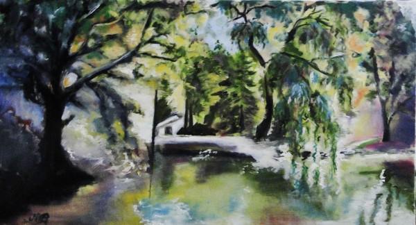 Picturi cu peisaje Show forest
