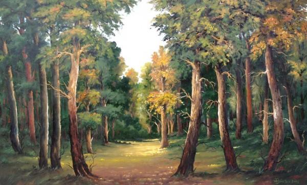 Picturi cu peisaje Forestiera