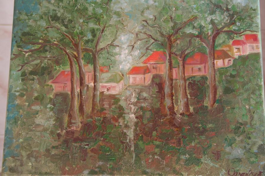 Picturi cu peisaje luminisul