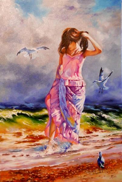 Picturi cu peisaje Dor de mare