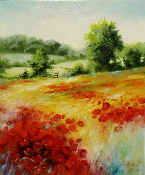 Picturi cu peisaje Spring
