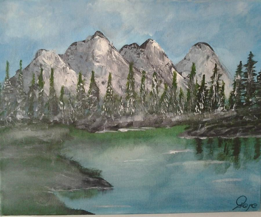 Picturi cu peisaje muntii...