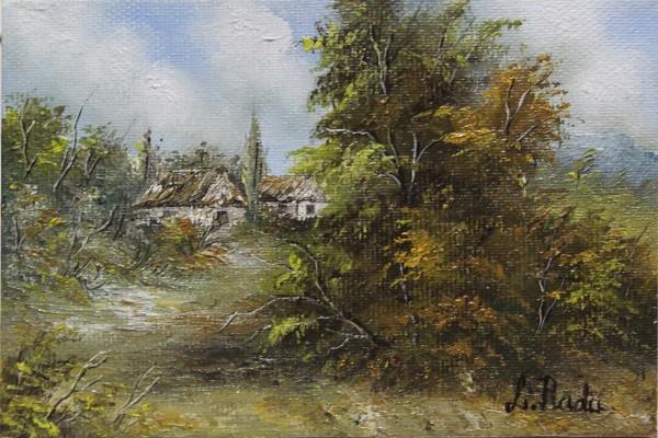 Picturi cu peisaje Pe langa sat