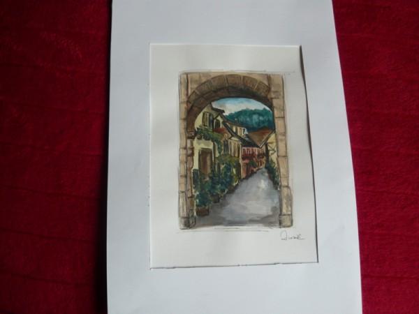 Picturi cu peisaje Strada