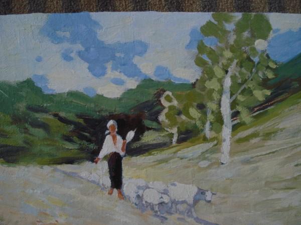 Picturi cu peisaje Pastorita