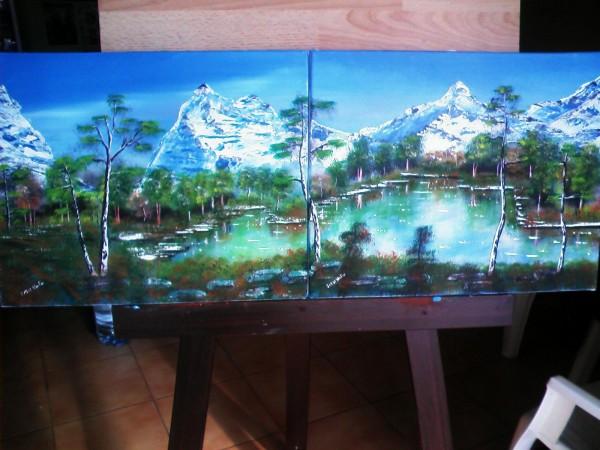 Picturi cu peisaje Frumusetea naturii