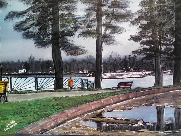Picturi cu peisaje La calu balan