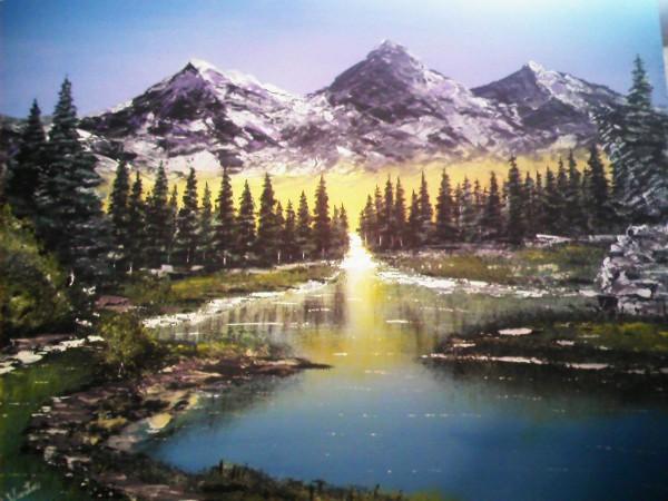 Picturi cu peisaje Splendoarea naturi