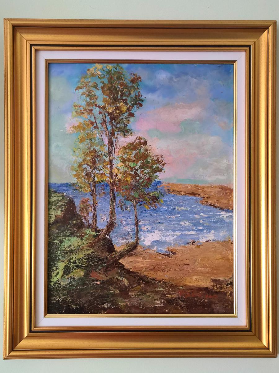 Picturi cu peisaje Aproape liniște