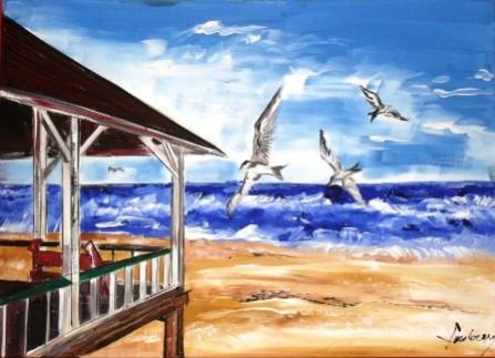Picturi cu peisaje Feel the breeze