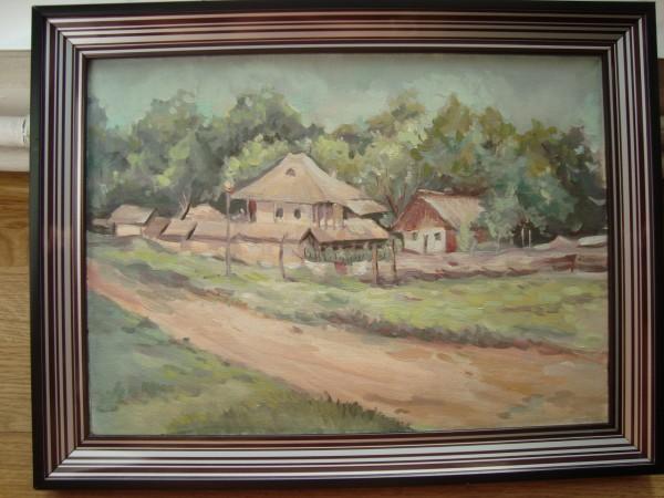 Picturi cu peisaje Peisaj la tara