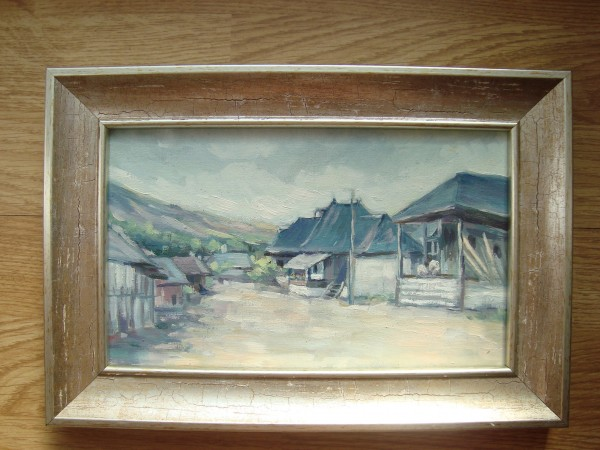 Picturi cu peisaje Peisaj rustic