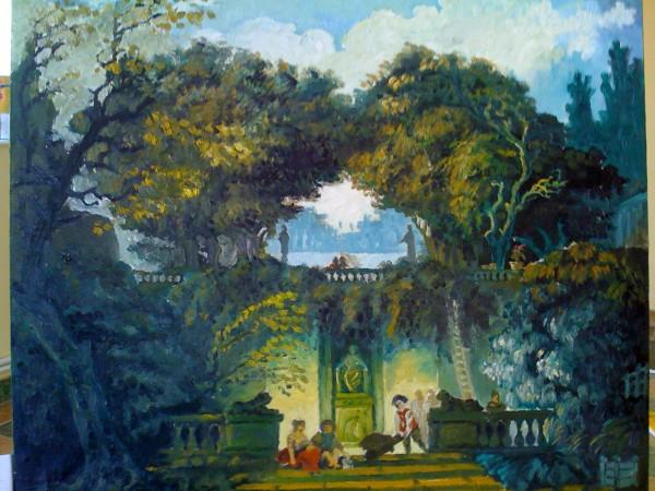 Picturi cu peisaje Reproducere 2010