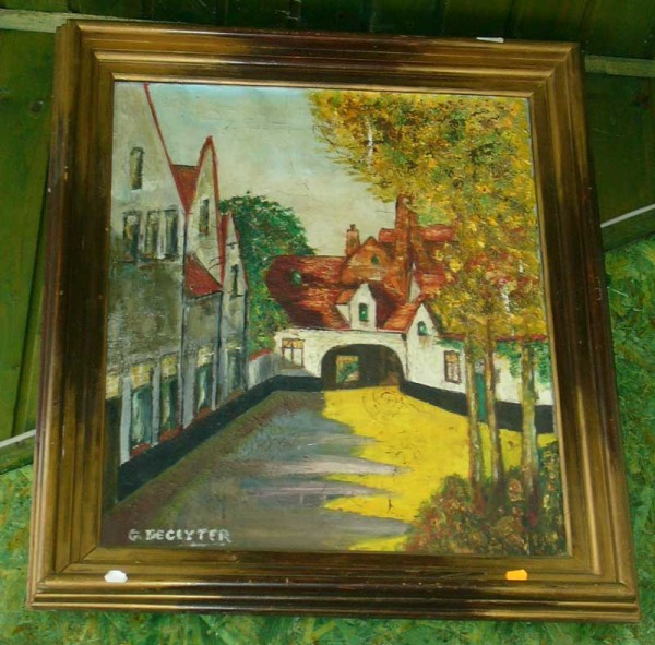 Picturi cu peisaje Tablou scoala flamanda