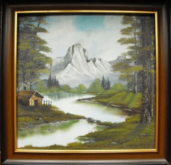 Picturi cu peisaje Cabana