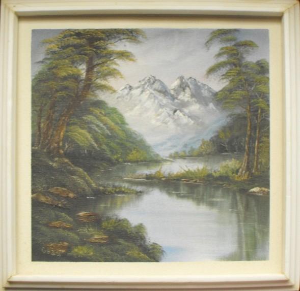 Picturi cu peisaje Liniste