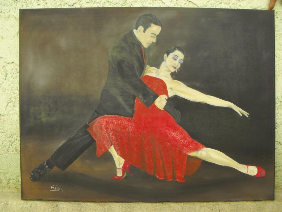Picturi cu peisaje Tango