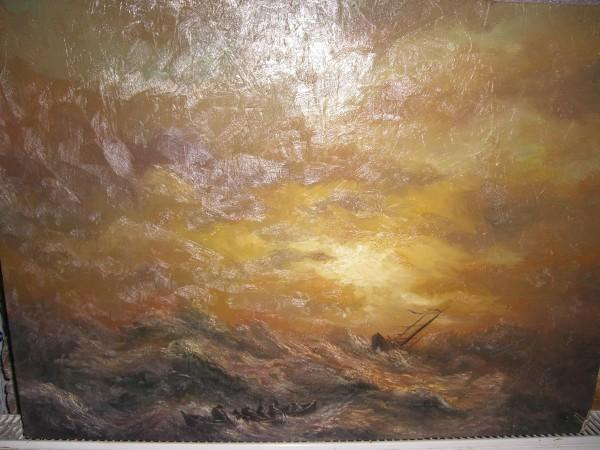 Picturi cu peisaje Naufragiu