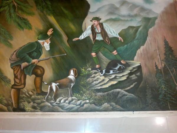 Picturi cu peisaje Braconierul
