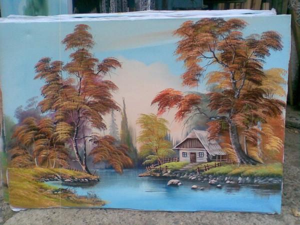 Picturi cu peisaje Zi senina