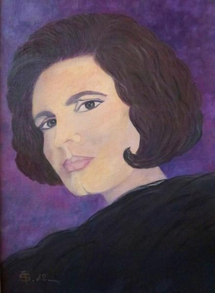 Picturi cu potrete/nuduri Amalia rodrigues